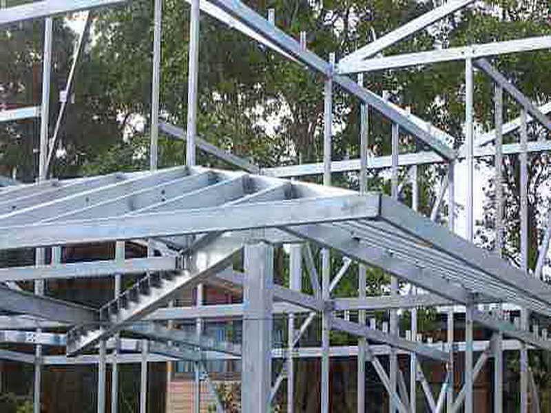 Metal Stud Construction Metal Stud Framing Techniques Construction Metal Stud Framing Timber Frame Building Steel Frame Construction