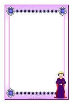 kindergarten page border
