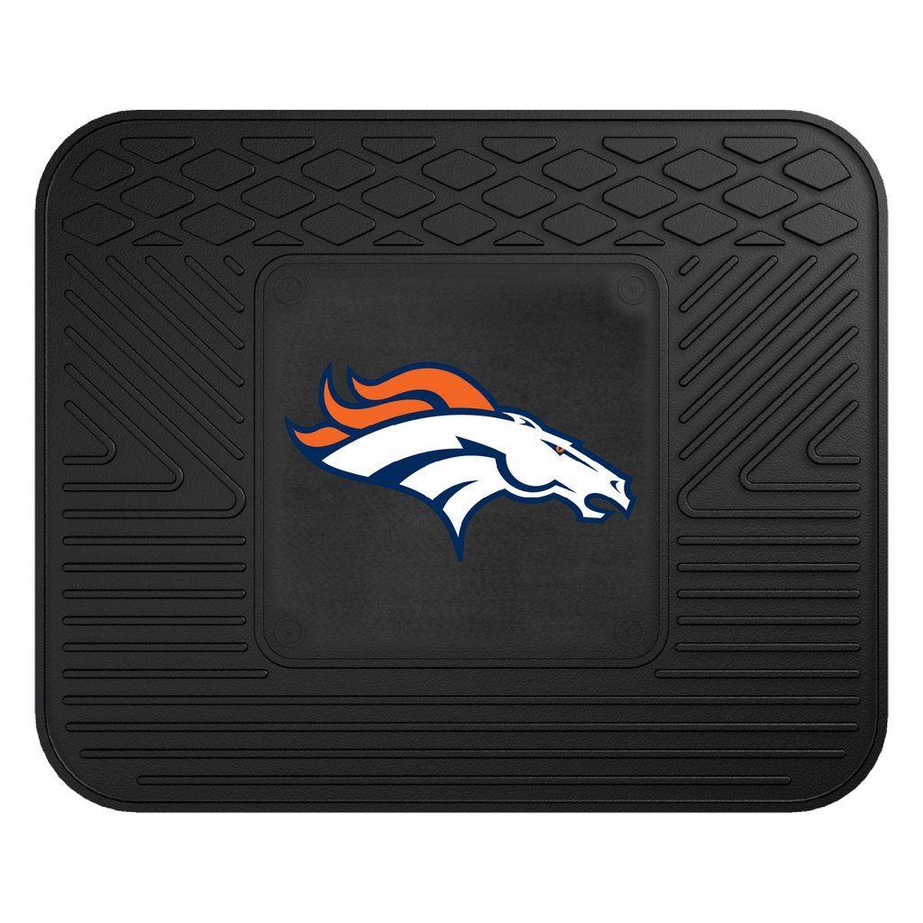 """NFL Denver Broncos Utility Mat 14""""x17"""" Denver broncos"""