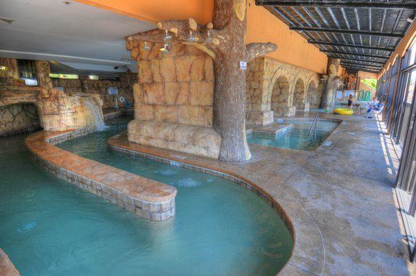 Indoor Lazy River Island Vista Resort