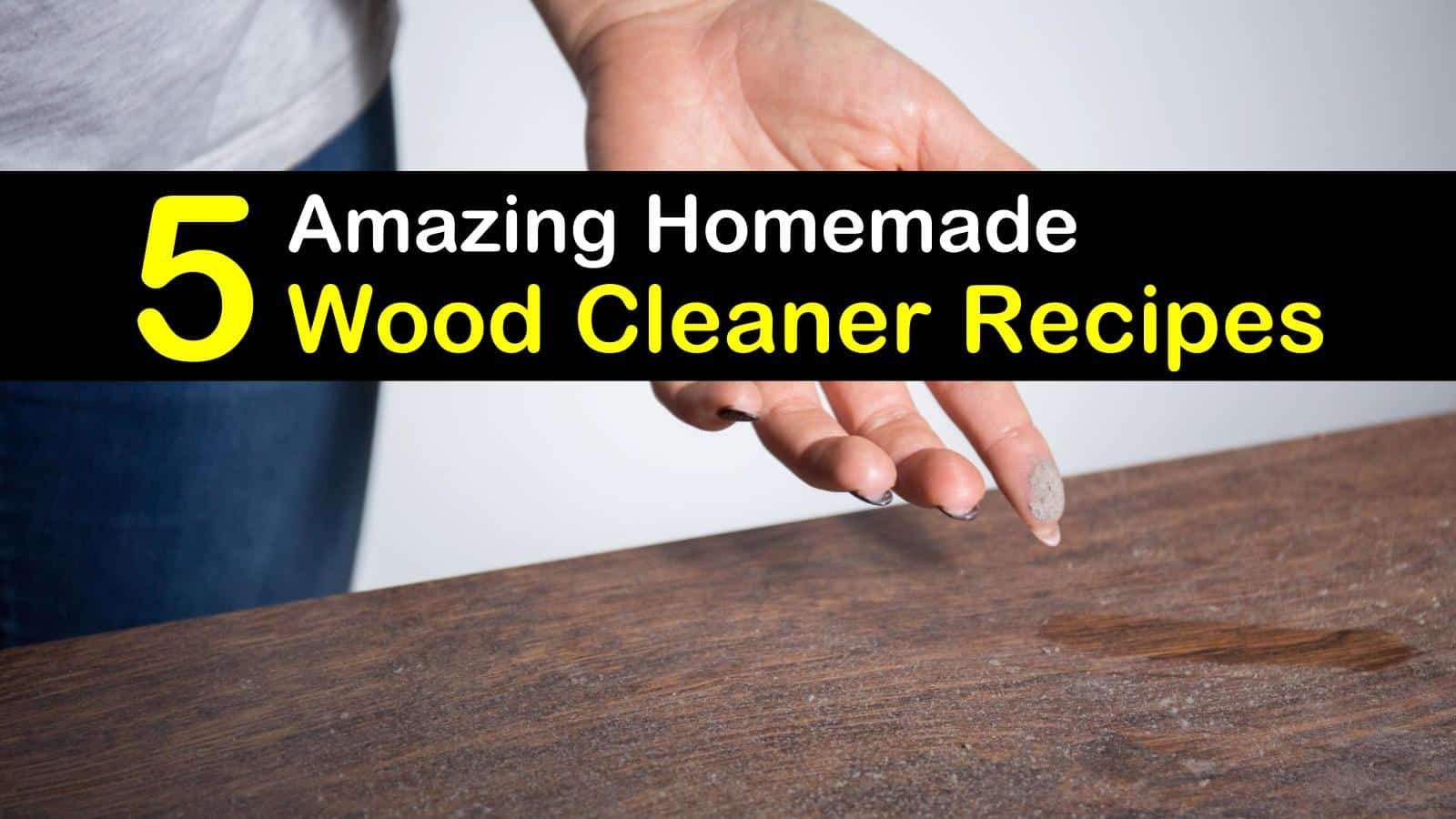 diy wood stain remover