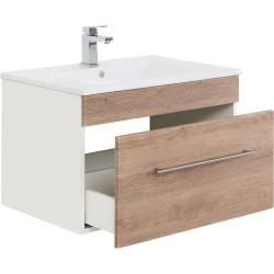 Photo of Bathroom furniture set Santini 75 (5 pieces) oak light silk gloss emotion
