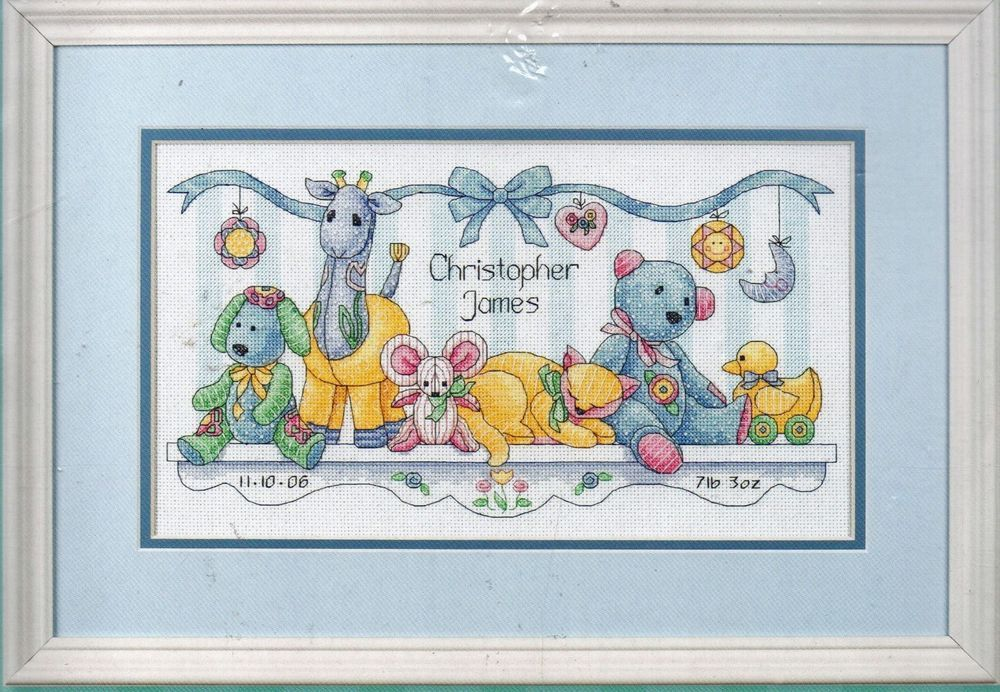Greatest Gift /& Tea Roses Cross Stitch Kit with Frame by The Creative Circle NIP