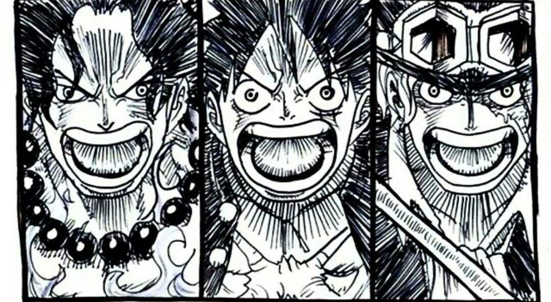 Ace Luffy And Sabo One Piece Anime One Piece Manga One Piece Ace