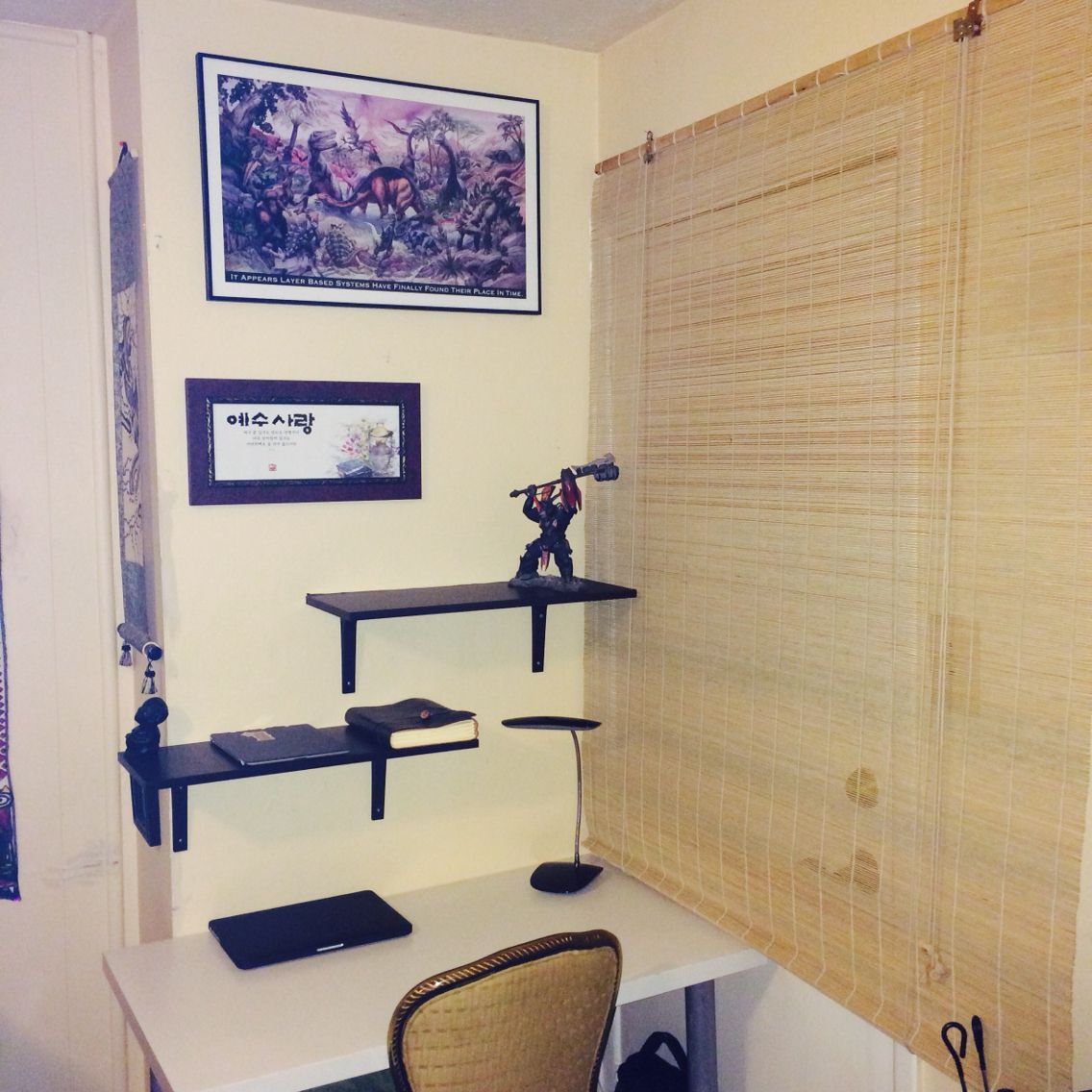 Small pace study area #smallspace #efficiency #apartment
