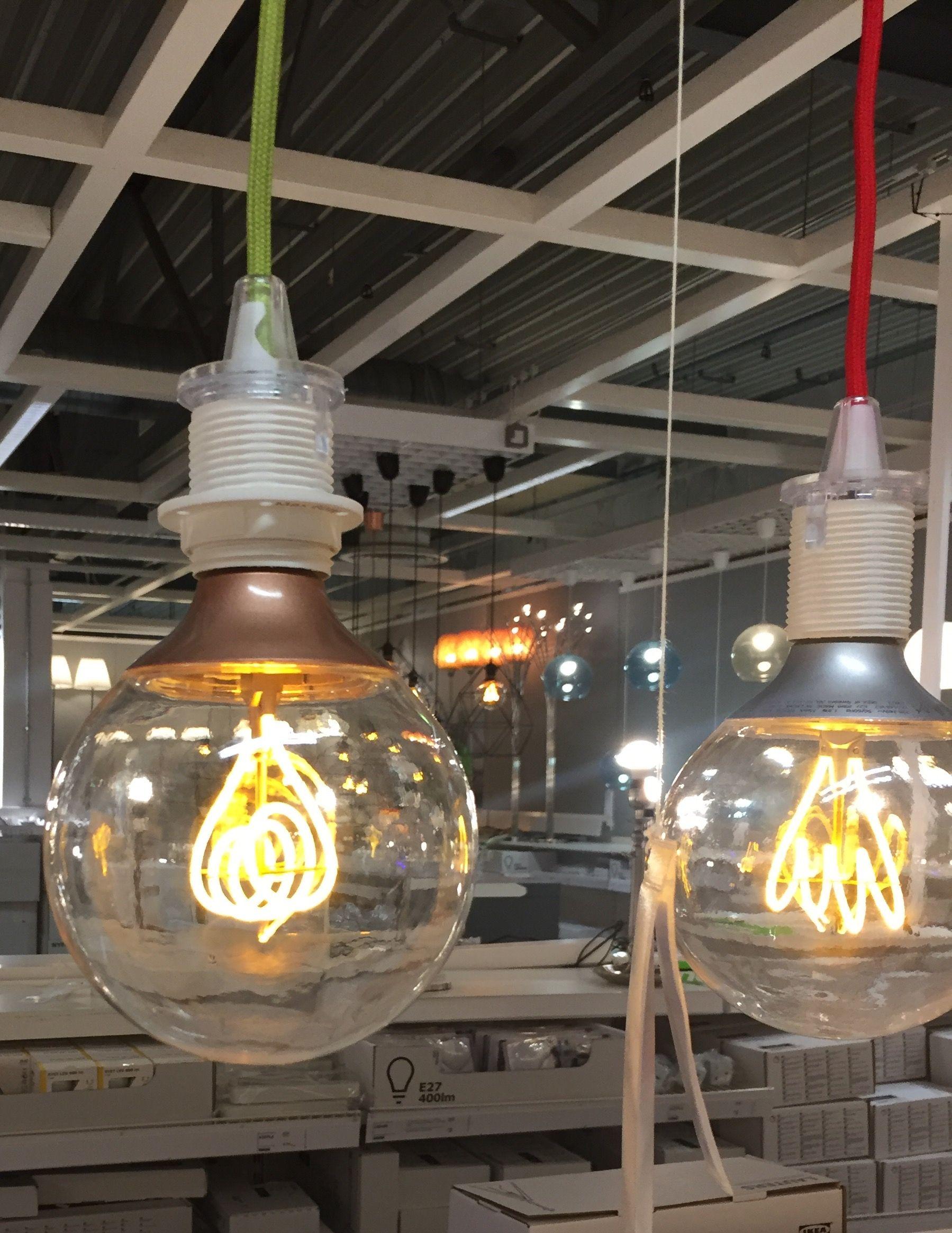 Ikea 'NITTIO' Bulbs Give Cool Edison