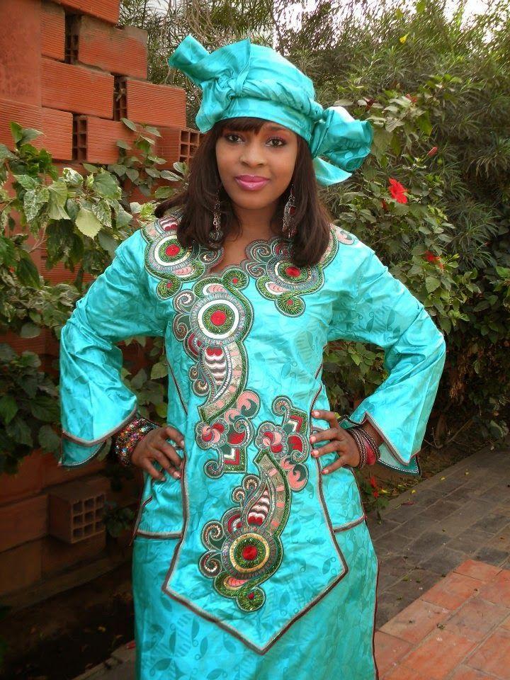 African Print Senegal Midi Dress: Senegal Traditional Clothing - Google Search