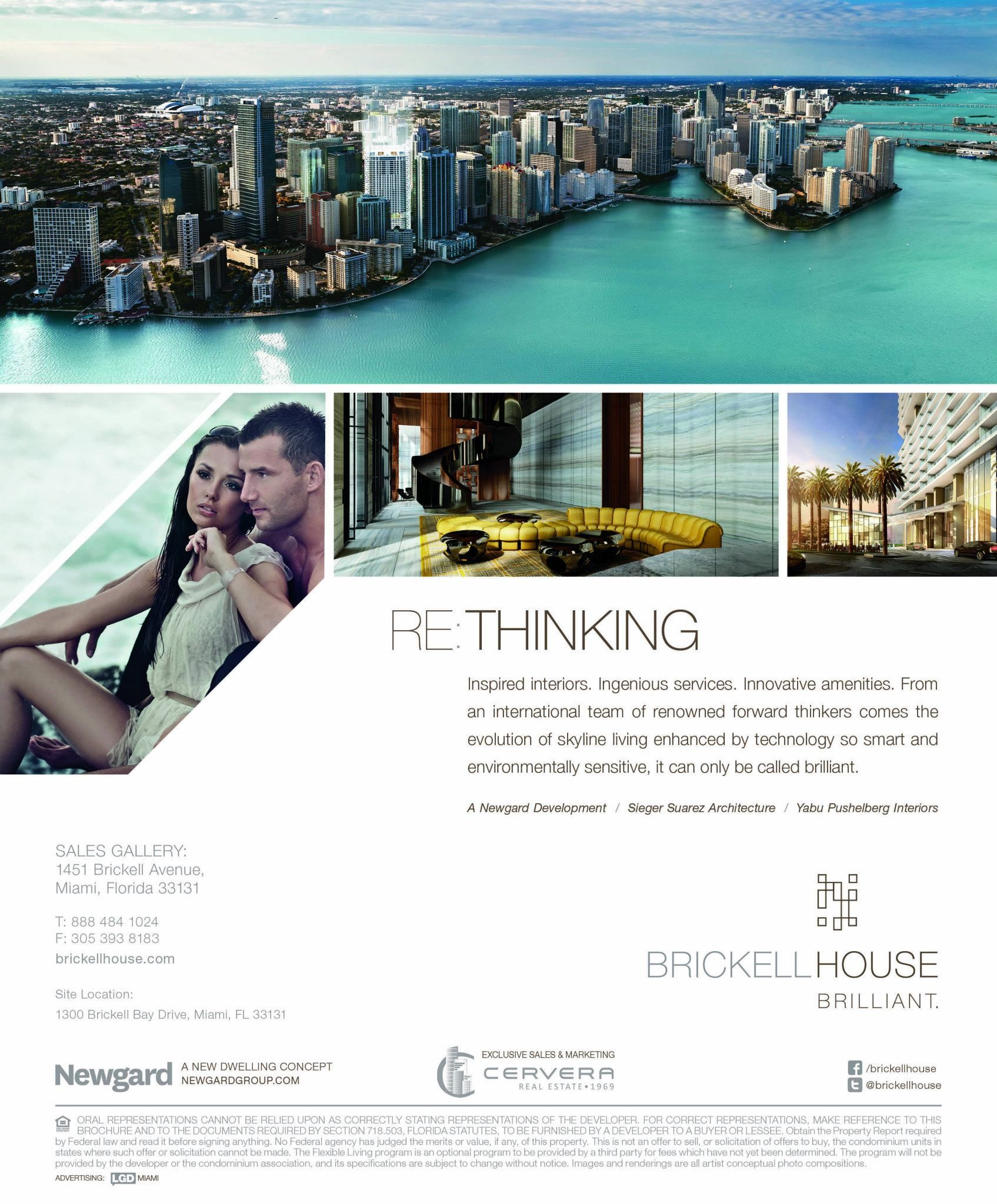 Brickellhouse Lgd Communications Hotel Ads Luxury Graphic Design Real Estate Advertising