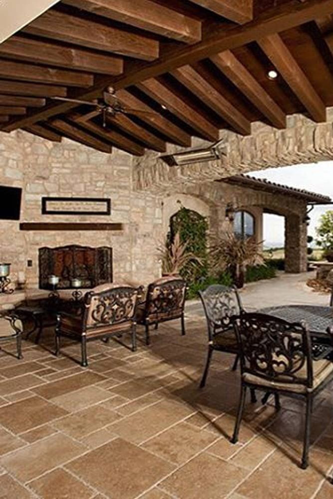 30 Amazing Outdoor Fireplace Ideas | Home decor, Decor ... on Amazing Outdoor Fireplaces id=27200