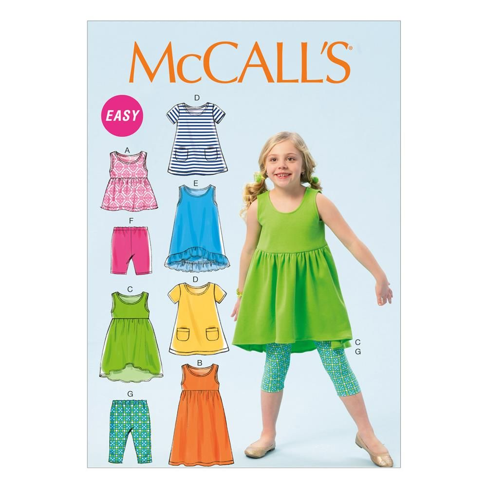 Mccalls childrensgirls dresses pattern m6947 size cdd from sewing patterns mccalls childrensgirls dresses pattern m6947 size cdd from fabricdotcom pattern is for jeuxipadfo Choice Image