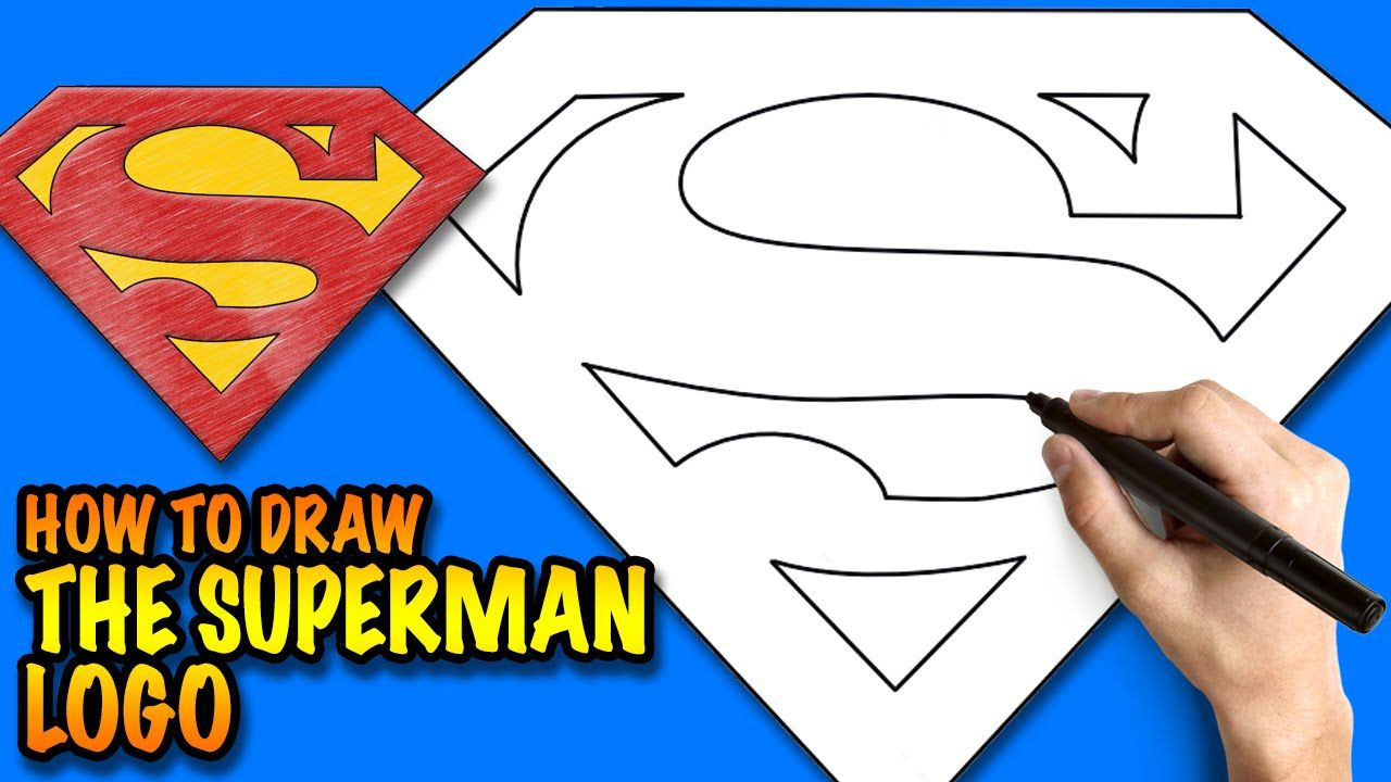 How to draw the superman logo easy step by step drawing tutorial how to draw the superman logo easy step by step drawing tutorial buycottarizona