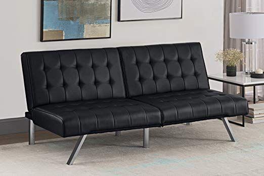Super Dhp Emily Futon Sofa Bed Modern Convertible Couch With Inzonedesignstudio Interior Chair Design Inzonedesignstudiocom