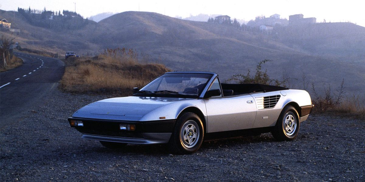 Mondial Cabriolet Is Probably The Only 4 Seater Mid Engined
