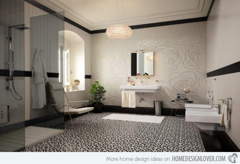 Dekorative Fliesen Im Bad #Badezimmer #Büromöbel #Couchtisch #Deko Ideen  #Gartenmöbel #