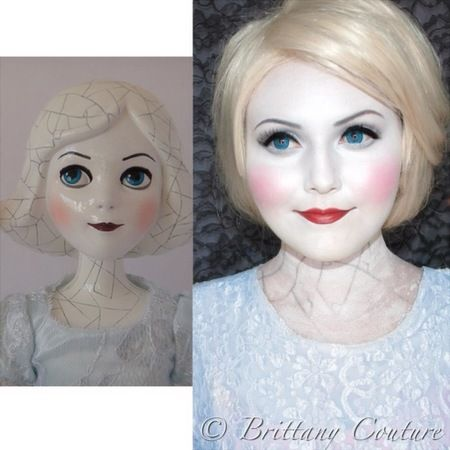 porcelain doll halloween makeupChina Girl https://www.makeupbee ...
