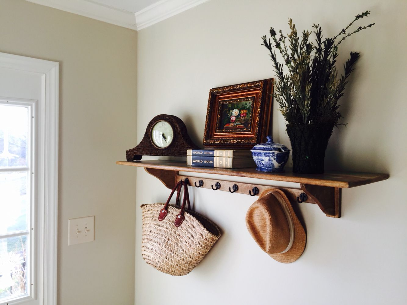 my entry way wall color is tapestry beige from benjamin. Black Bedroom Furniture Sets. Home Design Ideas