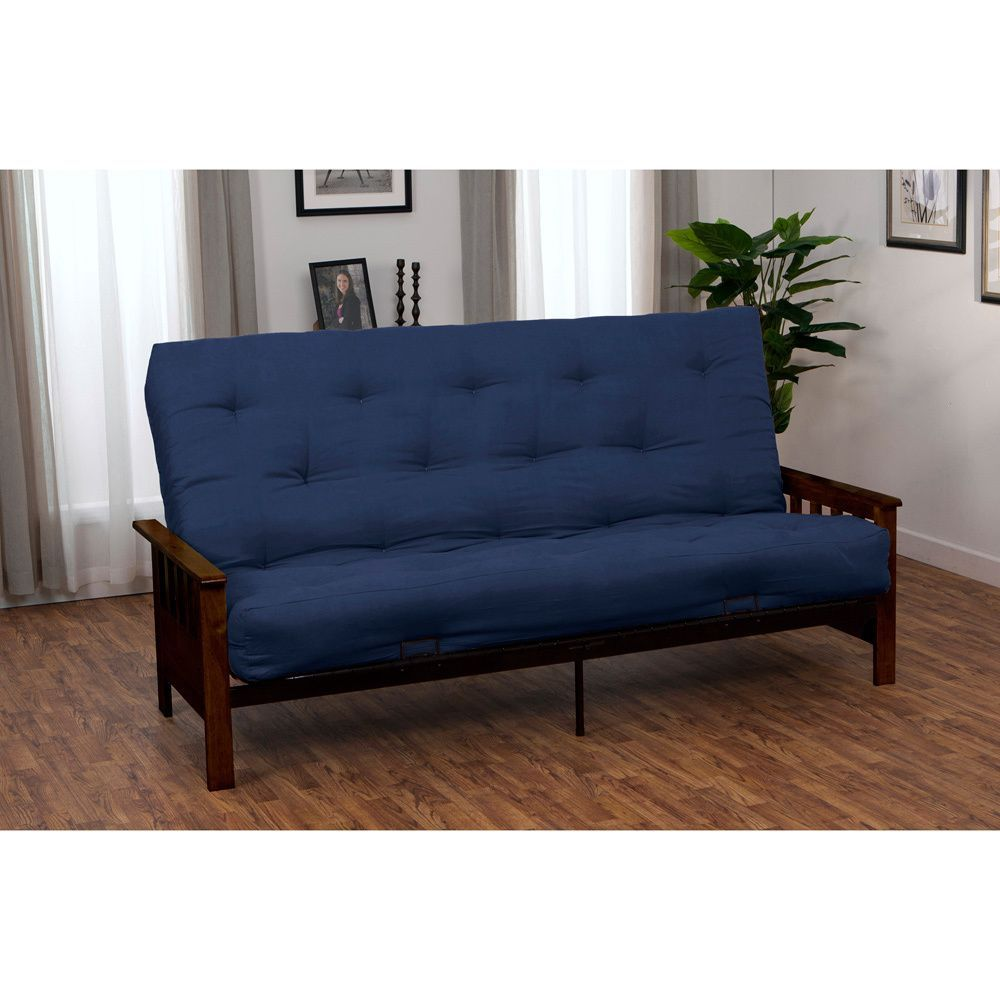epicfurnishings provo inner spring full size futon sofa sleeper bed
