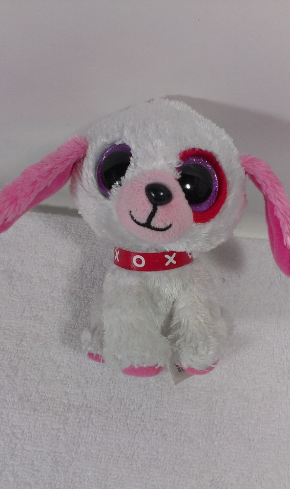 """Ty Beanie Boo #Boos 6"""" #Plush Puppy #Dog #DARLIN Collectible #Ty"""
