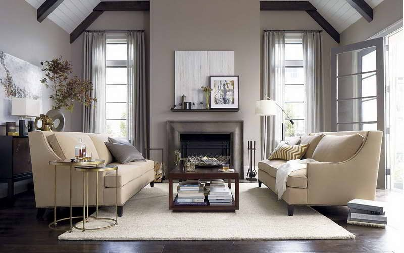 Gray Interior Paint grey interior paint ideas | grey brown paint color for drapery
