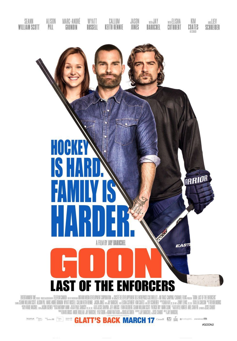 goon last of the enforcers movie poster with seann