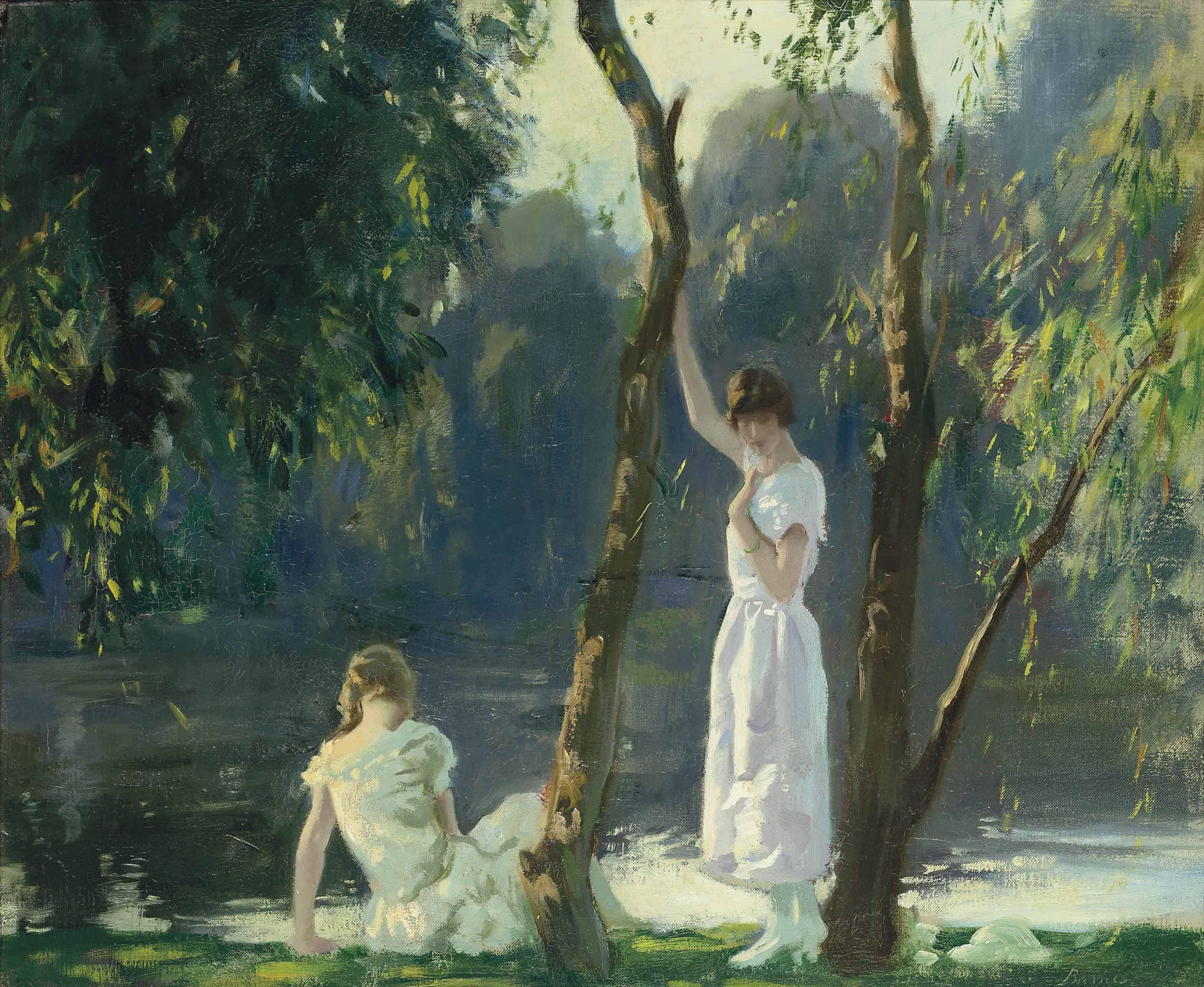 Archibald George Barnes RI, ROI, RP (1887-1972) — A ...