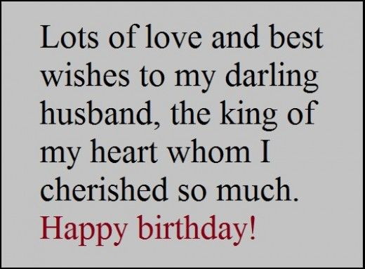 Heartwarming Birthday Wishes For Your Husband Happy Birthday