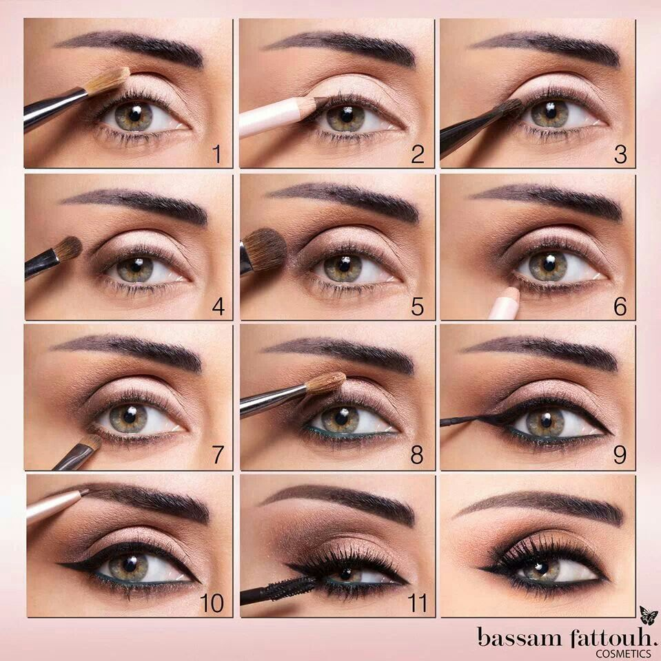 Bassam Fattouh Make Up Tutorial Make Your Eyes Bigger How To
