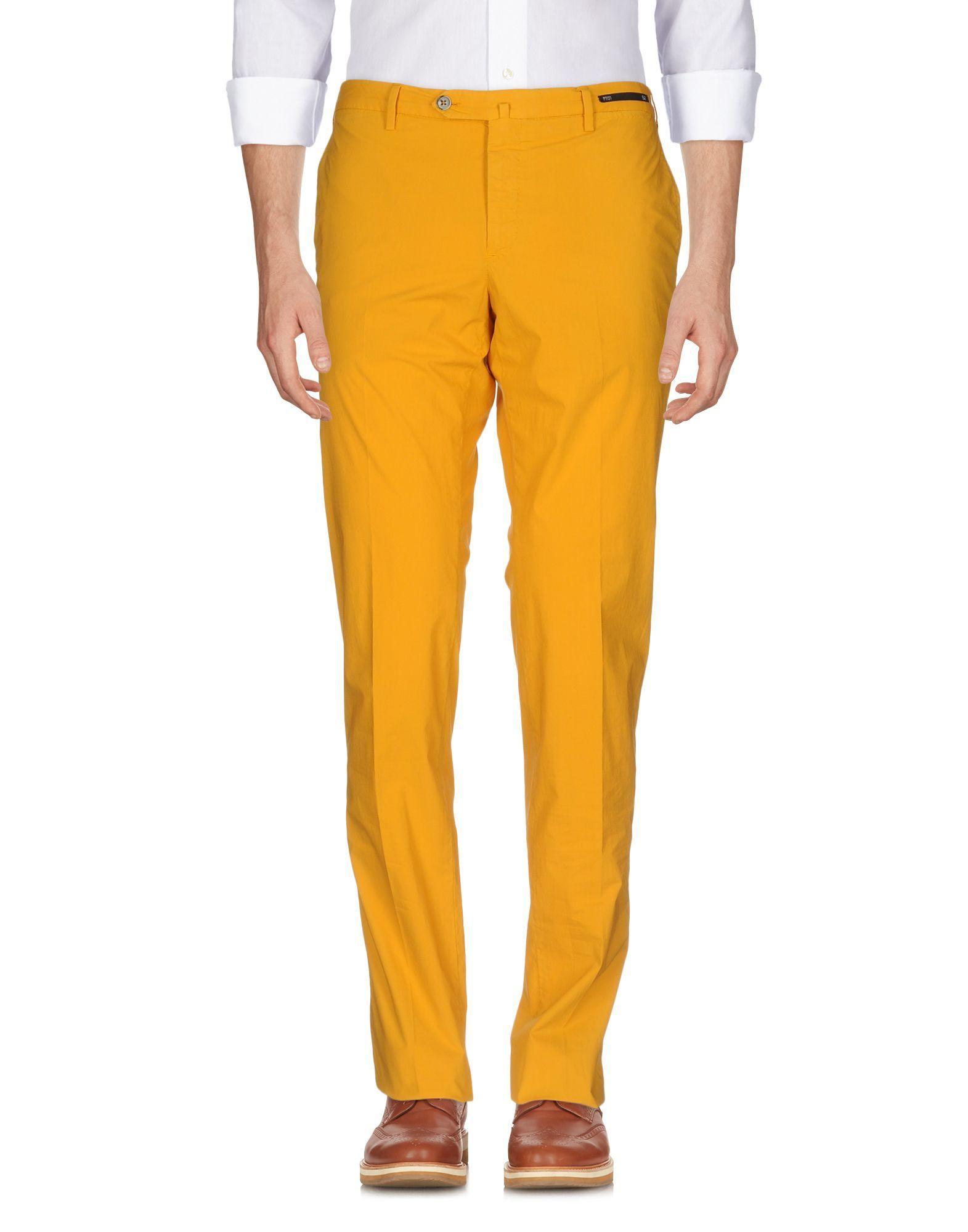 For Sale Sale Online Footlocker Cheap Online casual chinos - Yellow & Orange PT01 Explore Cheap Price Buy Cheap Great Deals BQsn3UR