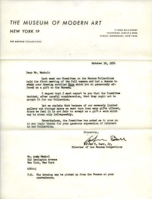 Even Andy Warhol Experienced Rejection Behold This Remarkable