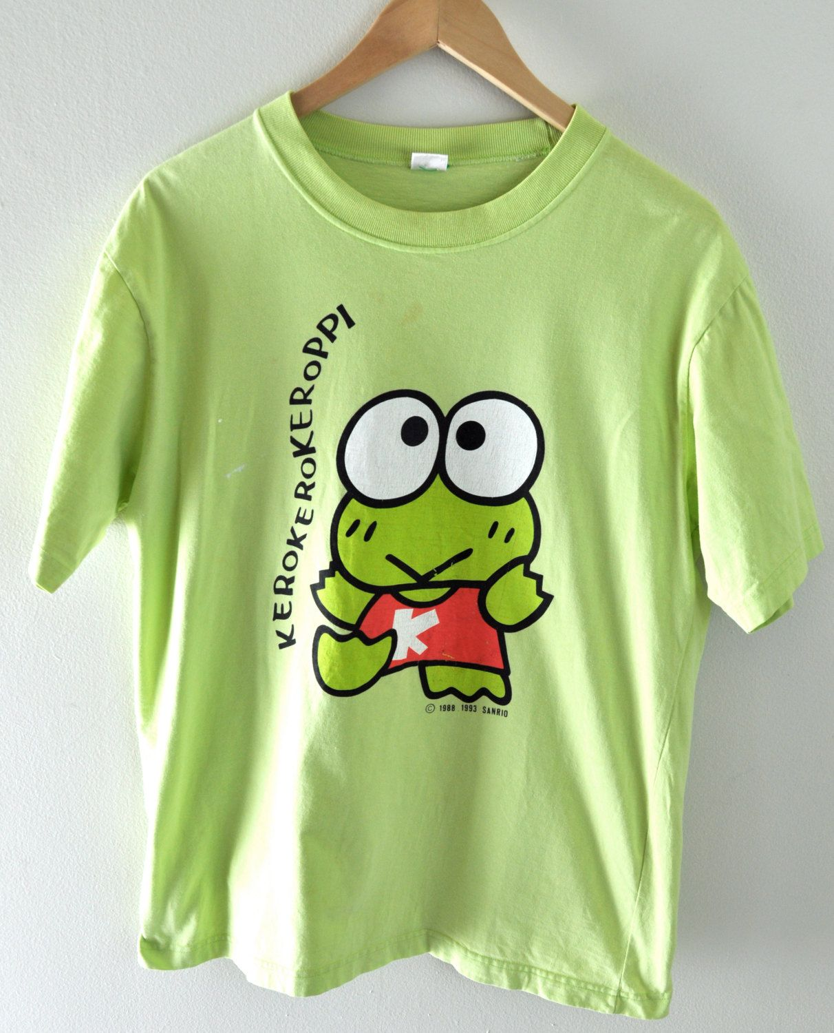 86336776 Authentic Vintage Sanrio T-Shirt. Keroppi in 2019 | fashion never ...