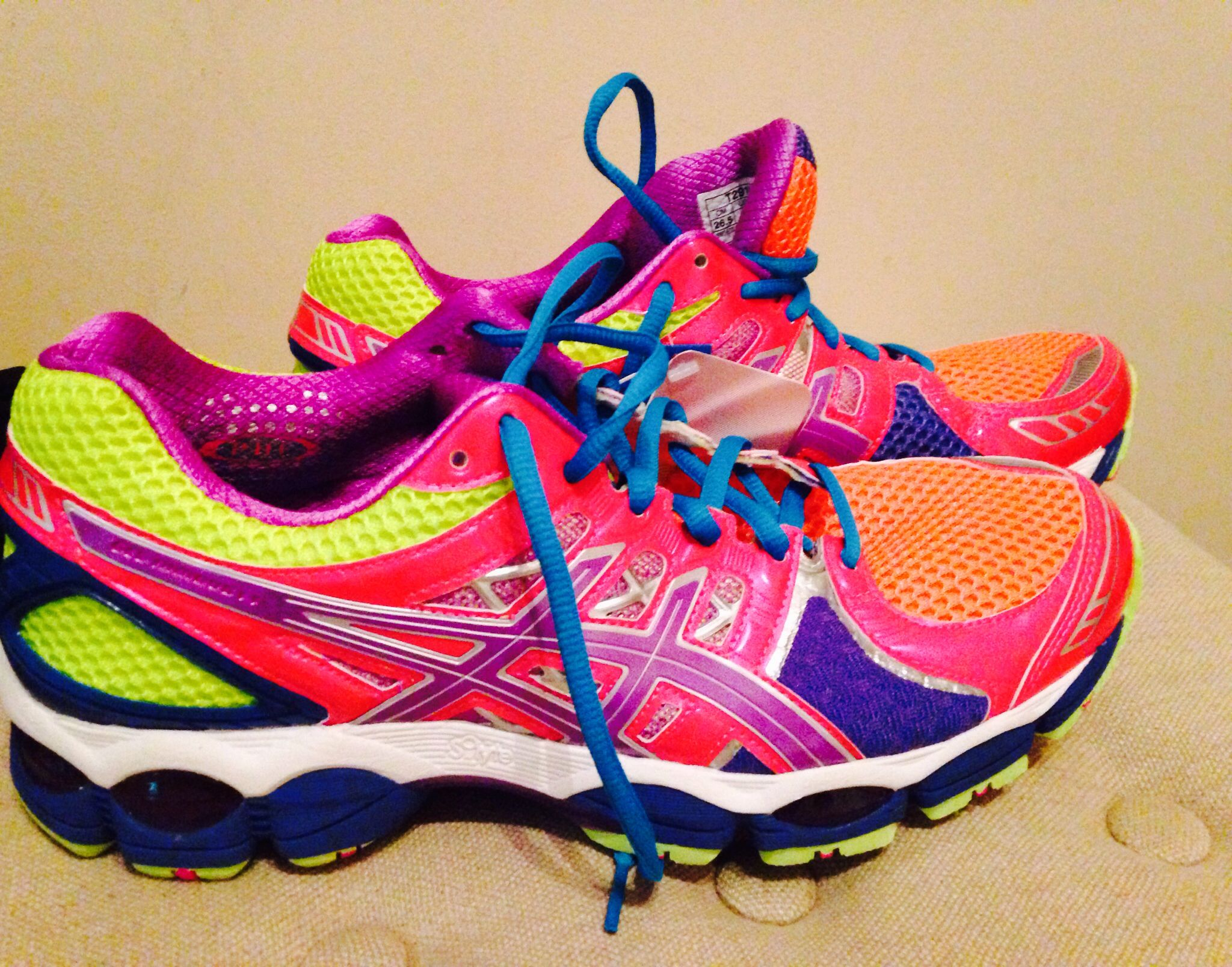 Finally flashy runningshoes