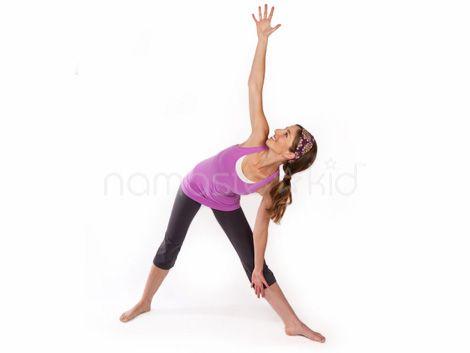 triangle pose  kids yoga poses yoga for kids childrens yoga