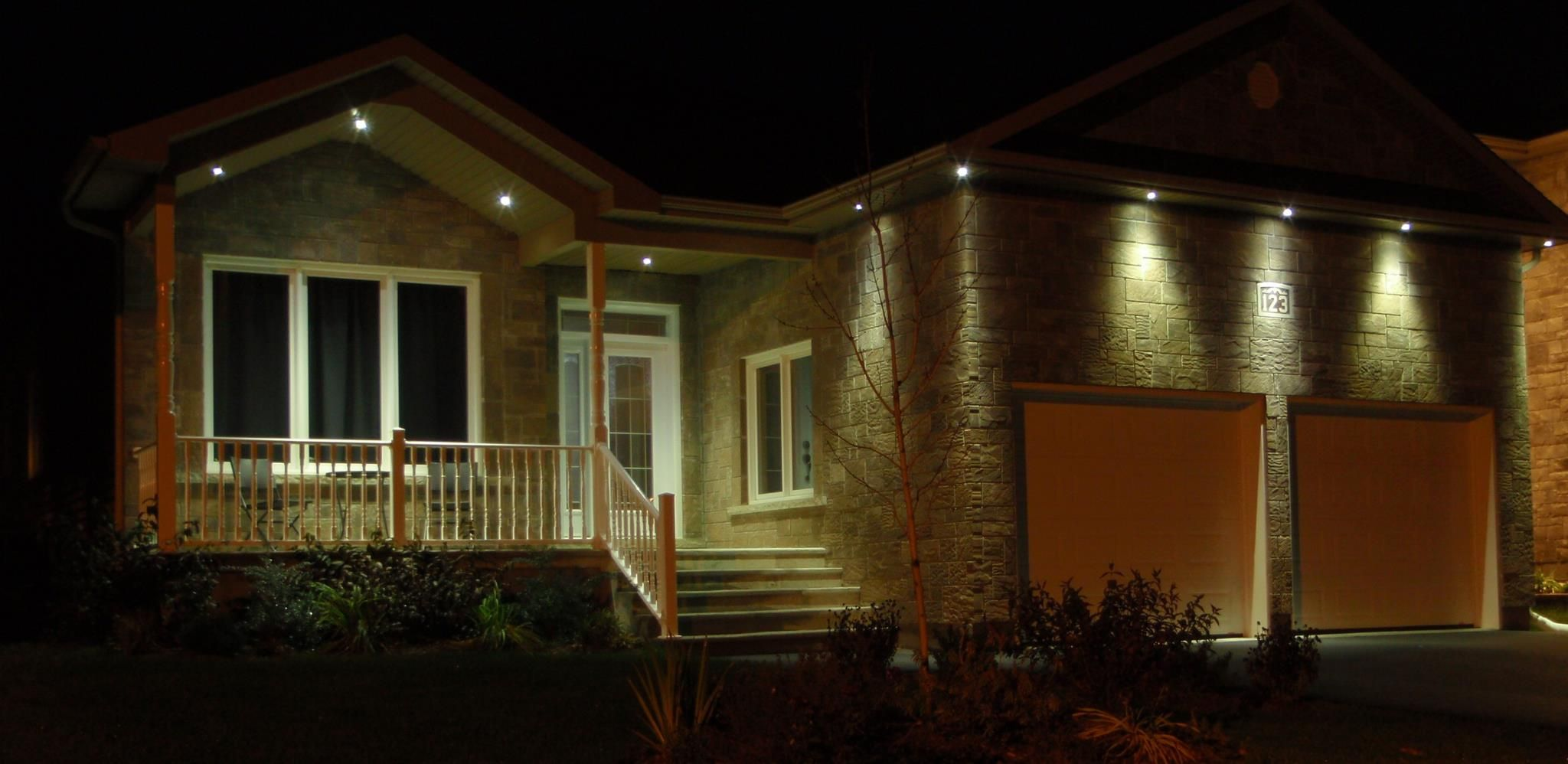 Delphitech Led Outdoor Lighting Better Exterior Home Designs Installs More Savings Than Cheap Outdoor Recessed Lighting Front House Lights Patio Lighting
