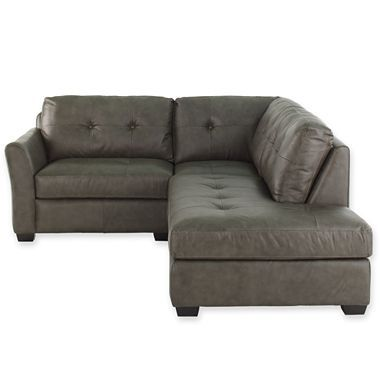 Denning Small Leather Sectional Jcpenney Small Sectional Sofa