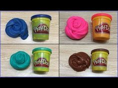 5 Ways To Make Slime With Play Doh Without Glue Diy Slime Play Doh