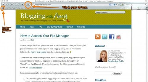 How to Make and Install a Favicon from {Blogging With Amy}