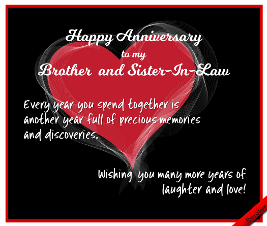 Anniversary Brother Sister In Law Anniversary Wishes For Sister Anniversary Wishes For Couple Happy Wedding Anniversary Wishes