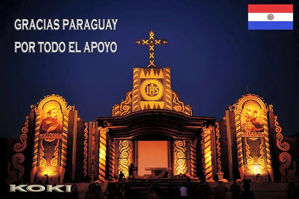 Made in Paraguay, toda una obra de arte, de frutos de nuestra tierra.