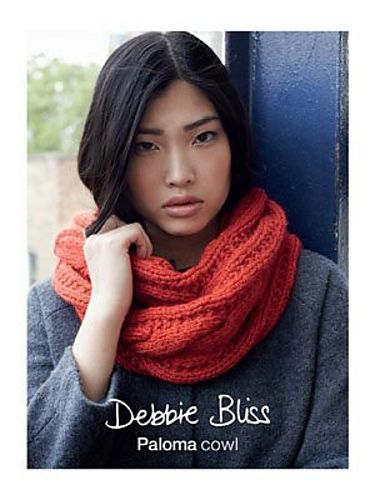 Two free knitting patterns cowl and muff in debbie bliss paloma gorgeous cosy cowl by debbie bliss free pattern httpblog dt1010fo