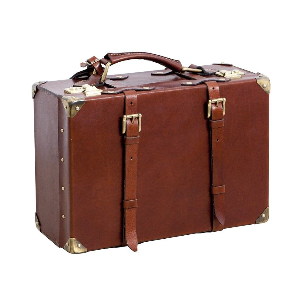 Cierva handmade brown leather suitcase, Made with the best quality ...