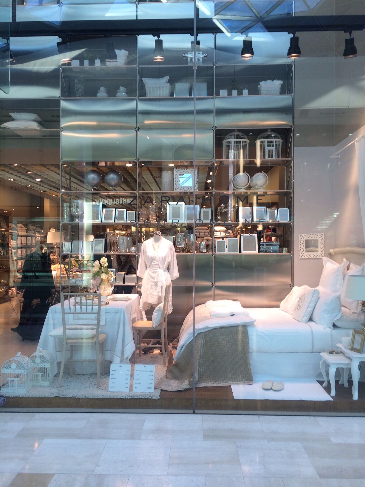 Zara Home Westfields London Hathout Showroom Interior Design
