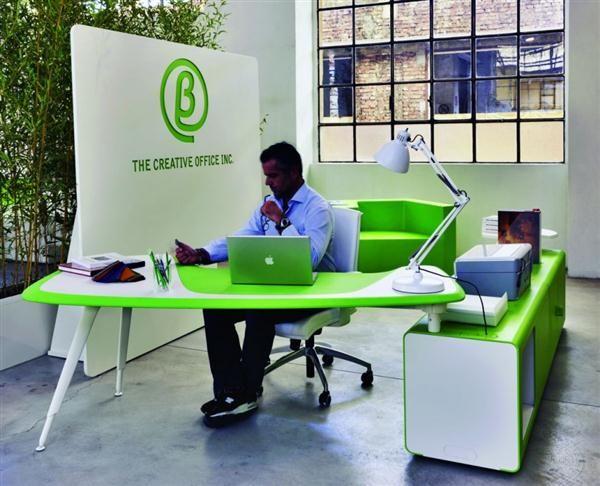 Amazing Green Office Workplace Design by Pierandrei Associati