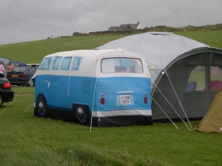 VW tent spotted in Newgale