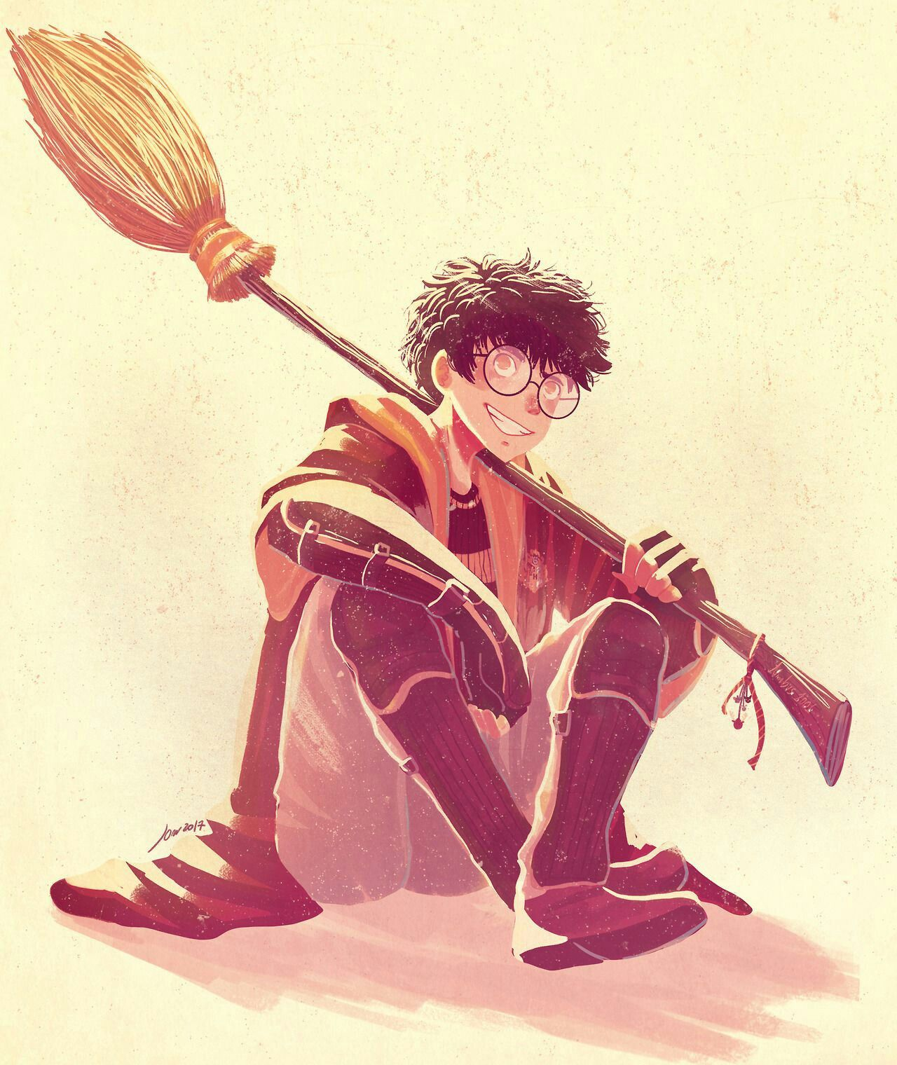 Pin by Рика on •HOGWARTS• Harry potter anime, Harry