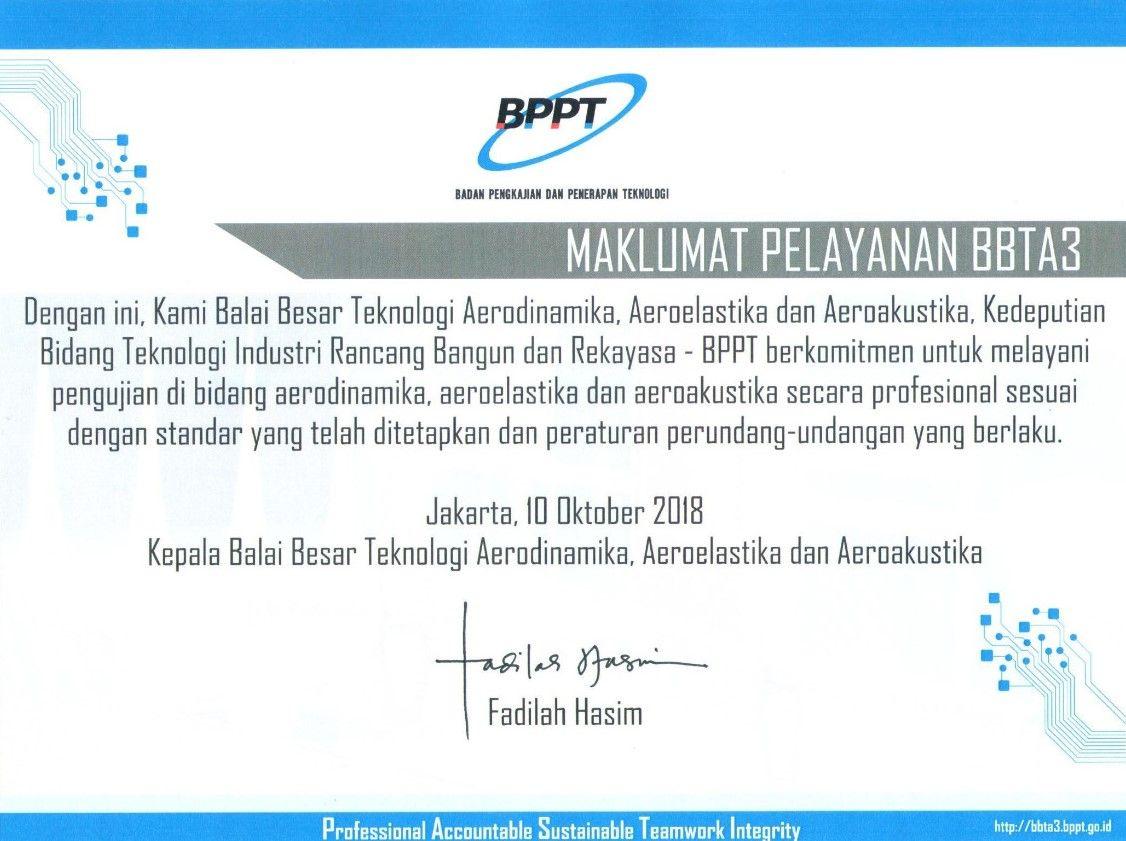 maklumat pelayanan bbta3
