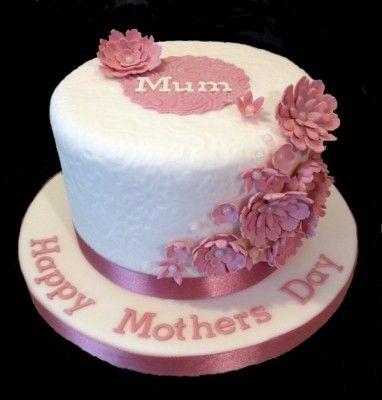 Pasteles para el dia de la madre hermosas maria luisa for Decoracion para el dia de la madre