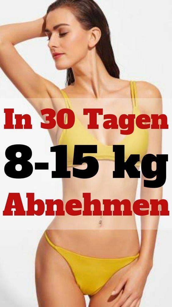 Gewicht verlieren und schlank werden.