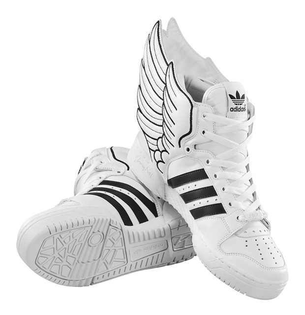 5a3d8cc469d5 Jeremy Scott Adidas Hermes High Tops. So fly!