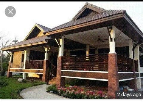 Rumah Banglo Ala Kampung