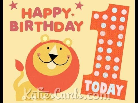 Lion 1st Birthday Ecard Playlist